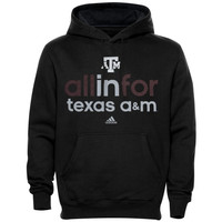 Texas A&M Aggies adidas Ultimate All In For Hoodie – Black