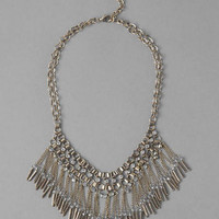 ALEXANDRIA FRINGE NECKLACE