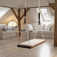 6 Stylish Indoor Swings for Kids