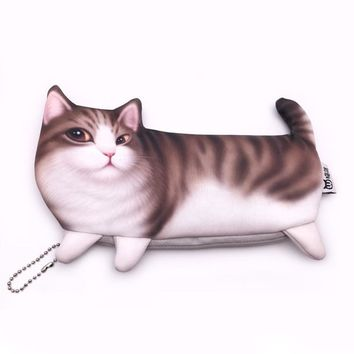 Cat pencil case Kawaii kalem kutusu Creative school supplies estojo escolar kalem kutu trousse scolaire stylo astuccio scuola
