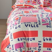 DENY Designs 'Holli Zollinger - Paris' Duvet Cover Set