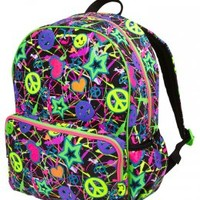 Glitter Graffiti Backpack | Girls Backpacks Backpacks & School Supplies | Shop Justice