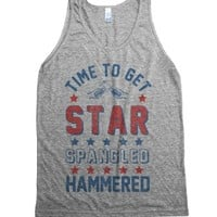 Athletic Grey Tank | Funny Patriotic 4th Of July Shirts