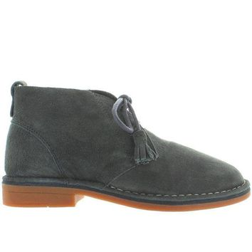 Hush Puppies Cyra Catelyn   Dark Grey Suede Chukka Boot