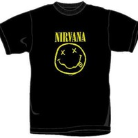 Nirvana T-Shirt - Smiley Face