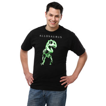 Exclusive Smithsonian Allosaurus T-Shirt - Black,