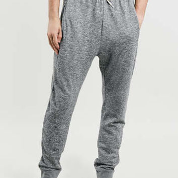 Grey Twisted Yarn Jogging bottoms - New In