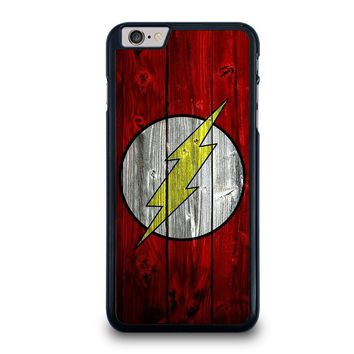 THE FLASH WOODEN iPhone 6 / 6S Plus Case