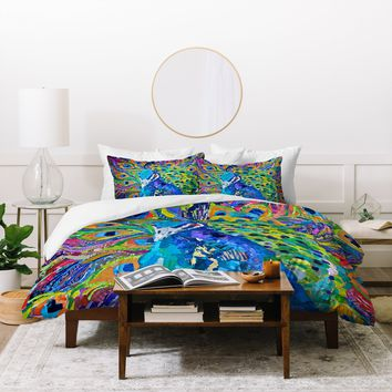 Elizabeth St Hilaire Nelson Cacophony Of Color Duvet Cover