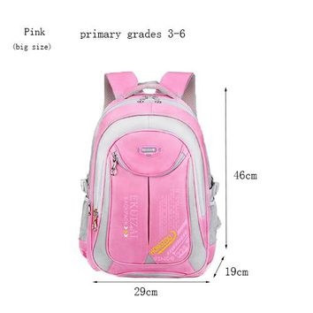 School Backpack Teenagers Students s Orthopedic Shoulder School bag for Boy Girls Lightweight Waterproof Women Backpack Schoolbag AT_48_3