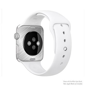 The Silver Brushed Aluminum Surface Full-Body Skin Kit for the Apple Watch