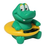 Infant Baby Temperature Water Thermometer Bear Baby Bath Thermometer Duck Dinosaur Baby Tub Toy Temperature Tester Kid Bath Toy