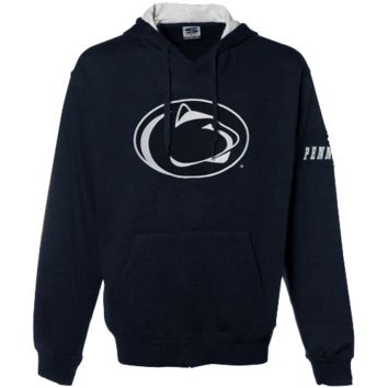 Penn State Nittany Lions Navy Blue Classic Twill Pullover Hoodie Sweatshirt