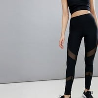 South Beach mesh insert legging at asos.com