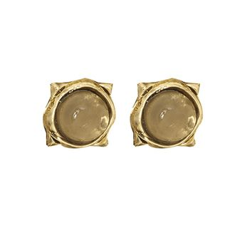 House of Harlow 1960 Jewelry Sea Stone Studs