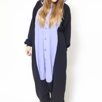 Midnight Cat Kigurumi Onesuit