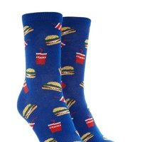 Burger Soda Crew Socks