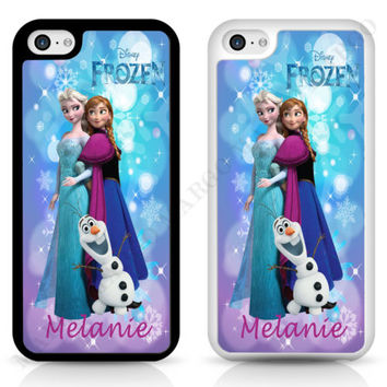 Frozen Elsa Anna Olaf Disney Personalized CASE COVER for iPhone iPod Samsung   eBay