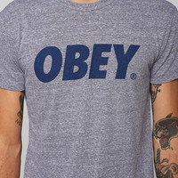 OBEY Font Triblend Tee - Urban Outfitters