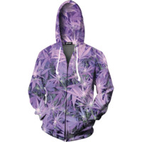 Purple Haze Zip Up Hoodie