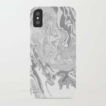 Smoky mirror iPhone Case by Printerium