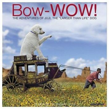 Bow Wow Adventures of Juji Wall Calendar, Funny Dogs by Willow Creek Press