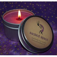 SACRED SPACE CANDLE - Kokopelli Ceremonial Ritual Altar Soy Candle
