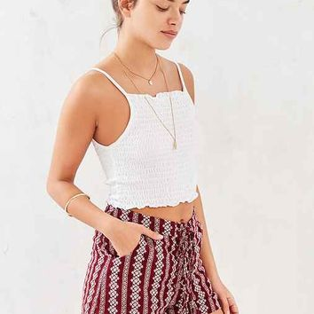 Moon River Lace-Up Pattern Short