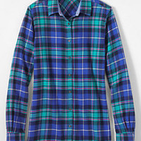 Women's Flannel Shirt from Lands' End