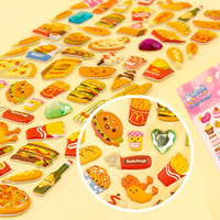 Buy Kawaii Jewelled Sponge Stickers - Fast Food at Tofu Cute