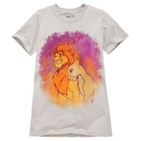 Simba and Nala Tee for Women -- Made With Organic Cotton