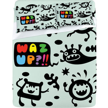 DENY Designs Home Accessories | Andi Bird Waz Up Sheet Set