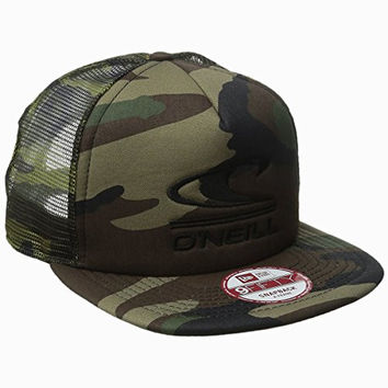 O'Neill Men's Tucker Trucker Hat, Camo, One Size