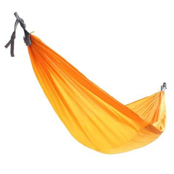 New Arrival Double Person Hammock Swing Bed Portable Parachute Sleeping Bed Travel Camping 270 X 150CM Tent Accessories