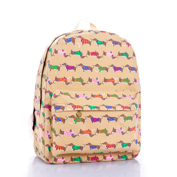 Cartoons Dogs Korean Summer Backpack = 4887836356