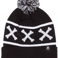 SOURPUSS REPEAT BONES POM HAT