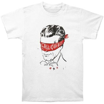 Fall Out Boy Men's  Blindfold T-shirt White