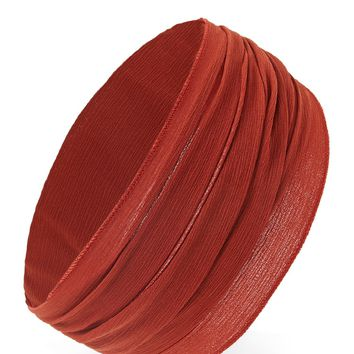 Ruched Woven Headwrap