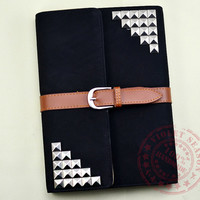 5 Color Choice, Leather iPad mini Case,iPad 2 case,iPad 3 case, iPad mini Cover, iPad case with sliver studs, Ipad Mini Book