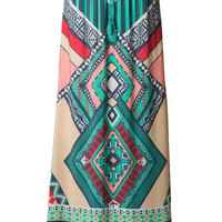 See the Sea Printed Maxi Skirt - Last One!