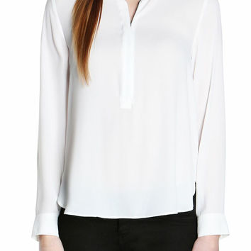 Anouck Zip Front Blouse-FINAL SALE