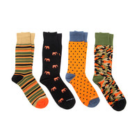 Dress Socks // Safari // Pack of 4