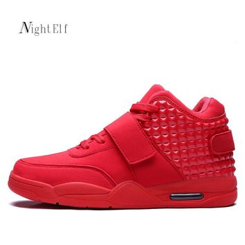Night Elf sport shoes men high quality men sneakers breathable air mesh men running shoes 2016 Winter men red bottom shoes hot