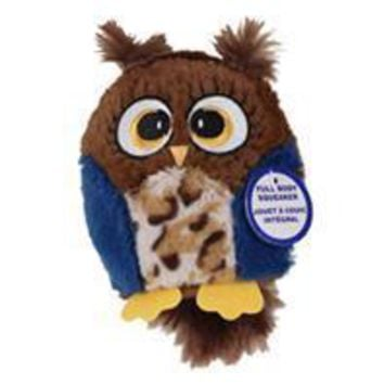 Ethical Dog - Hoots Owl Plush Squeaker Dog Toy