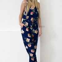 Bright Cobalt Jumpsuit