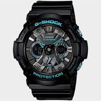 G-Shock Ga210ba-1A Watch Black/Blue One Size For Men 25625318401