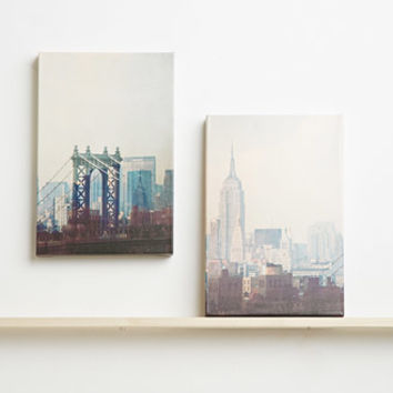 Graphique New York Canvas Art