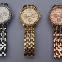 Fashion Geneva Gold Diamond Men's and women's fashion jewelry watches Jewelry = 1956451716