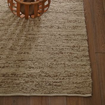 Sweater Wool Rug - Oatmeal