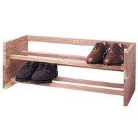 Woodlore Cedar Shoe Rack
